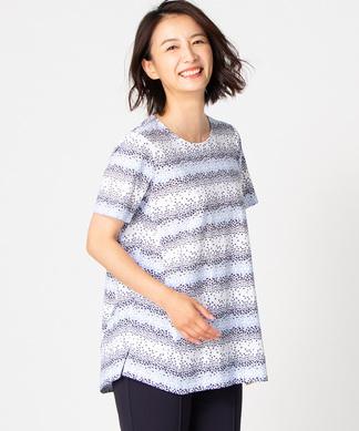 【特別提供品】星柄モチーフボーダーTシャツ