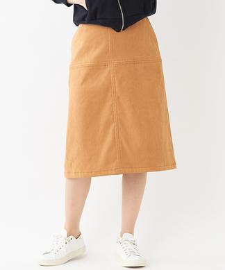十字ステッチタイトスカート