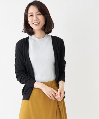 【GEMMA】長袖ニットカーディガン
