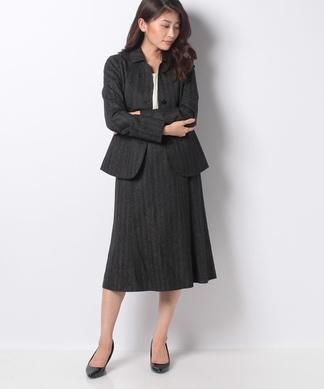 【ROCHAS Premiere】【REGGIANI】シェイプジャケット×スカートスーツ