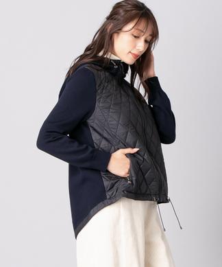 【エクラ11月号掲載】キルトジャケット