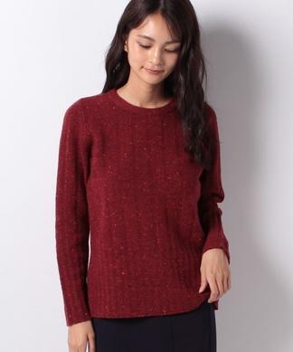【BIAGIOLI】カシミヤ混素材セーター