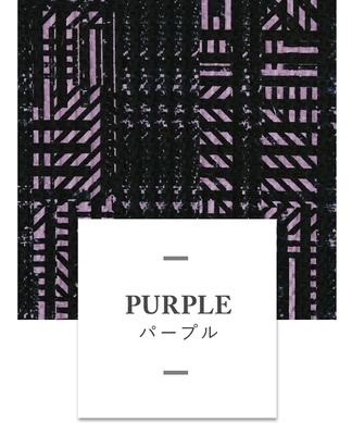 【ビスコテックス】ジオメトリックチェック柄ワンピース