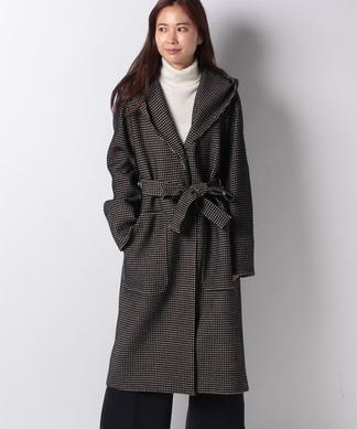 ミドル丈 フーデッドコート