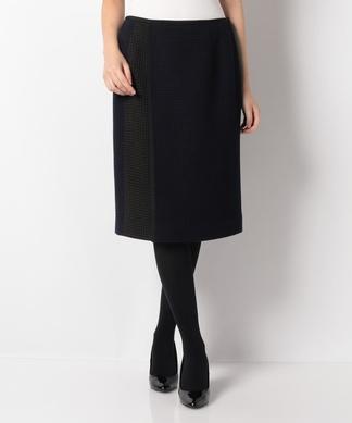 柄切り替えタイトスカート