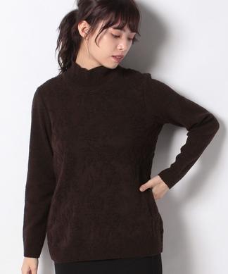 立体編みセーター