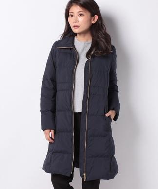【特別提供品】メタリックファスナーダウンコート