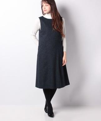 【特別提供品】ツイード調ジャンパースカート