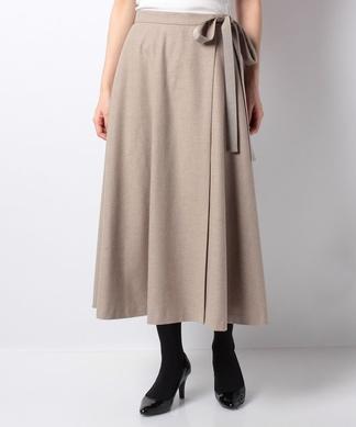 【特別提供品】リボン付きフレアースカート