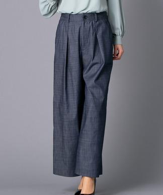 【my perfect wardrobe】デニムワイドパンツ