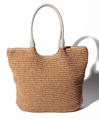 ペーパー編みトートバッグ