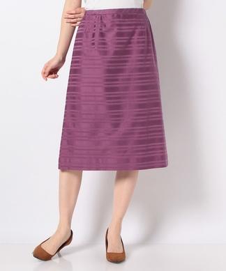 シャドウボーダーAラインスカート