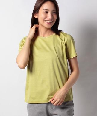 ビジューネックTシャツ