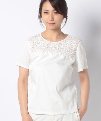 ヨークレースTシャツ