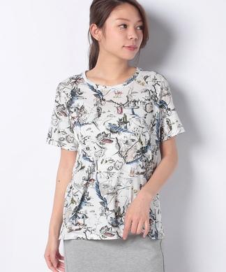 マップイラストTシャツ