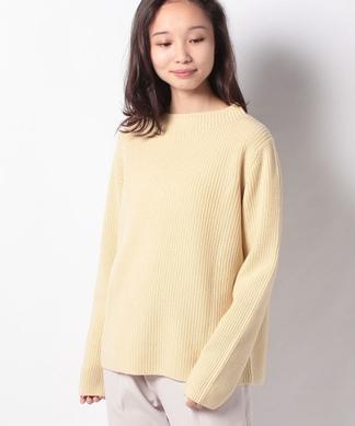 ハイネックカシミヤセーター