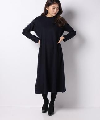 【my perfect wardrobe】ウールポンチワンピース