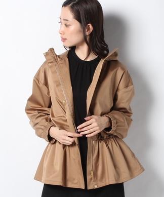 シャーリングフードジャケット
