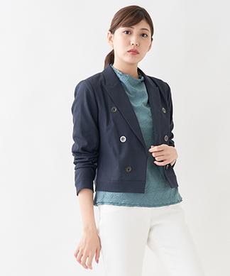 【特別提供品】テーラードショートジャケット