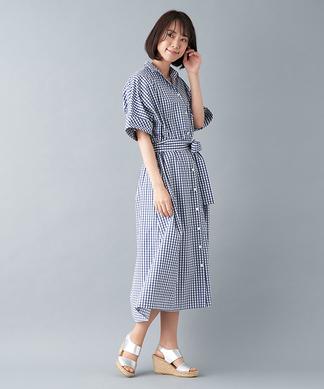 【ハロー・マイドレス】シャツドレス