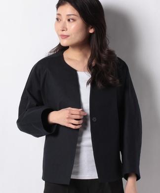 【my perfect wardrove】ノーカラージャケット