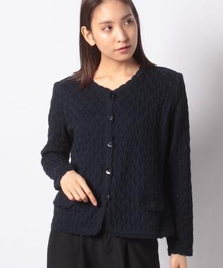 【VITTORIO】ニットジャケット