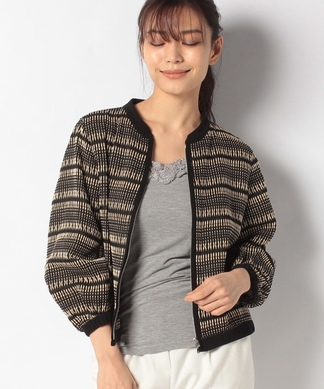 刺繍ジップジャケット