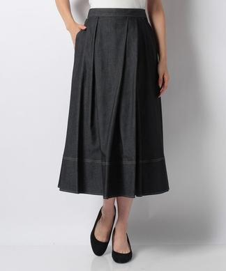 【セットアップ対応商品】デニムロングスカート