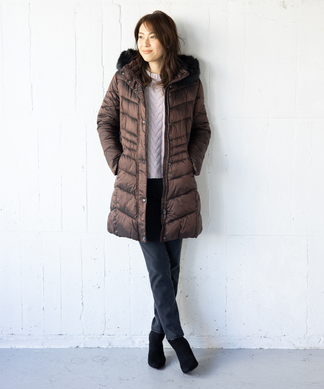 【BASLER】中綿コート