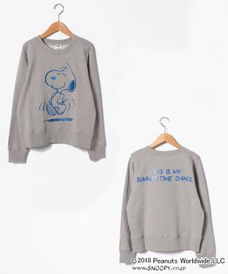 【ESSENTIAL】刺繍スウェット