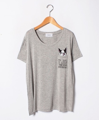 【PAULINE BLEU】Tシャツ