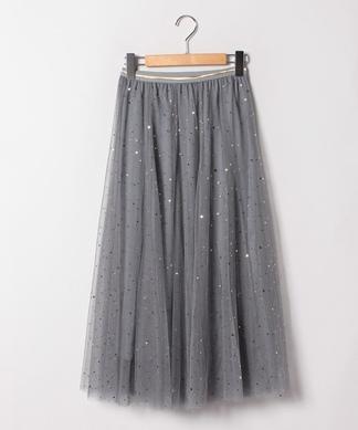 【PAULINE BLEU】ミモレ丈スカート