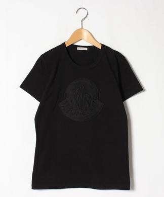 同色ロゴマークTシャツ