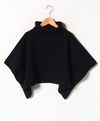 【FIL BLANC】タートルポンチョセーター