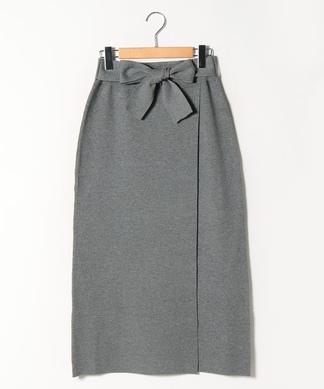 ロングニットタイトスカート