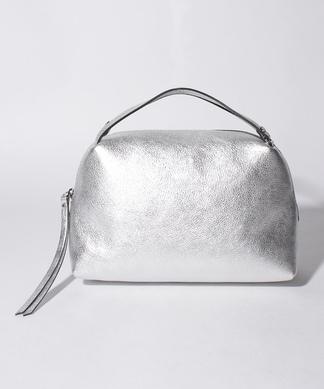 レザーハンドバッグ