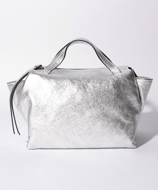 【GIANNI CHIARINI】ショルダーストラップ付2WAYハンドバッグ