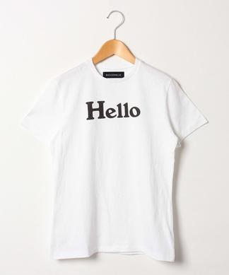 ロゴメッセージTシャツ