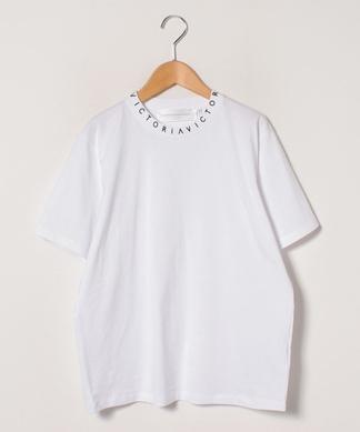ロゴネックTシャツ