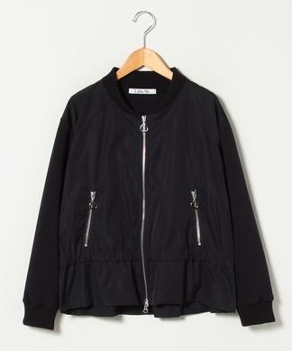 【Lallia Mu】ジップジャケット