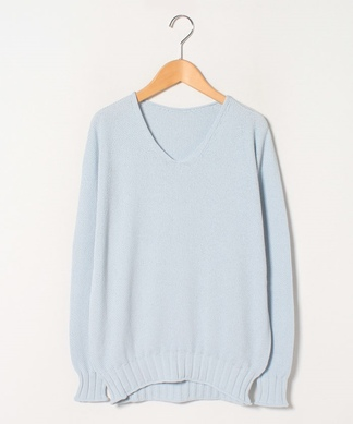 【C+】Vネックセーター