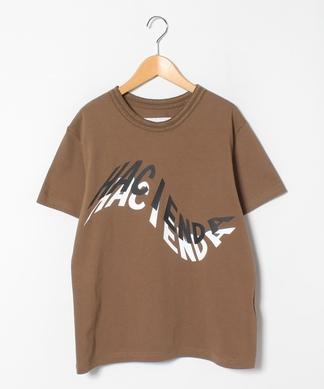 【Lallia Mu】アーティスティックグラフィックTシャツ