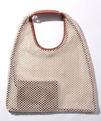 【arron】メッシュ編みトートバッグ