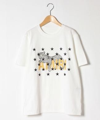【TRANOI】アニマルモチーフTシャツ