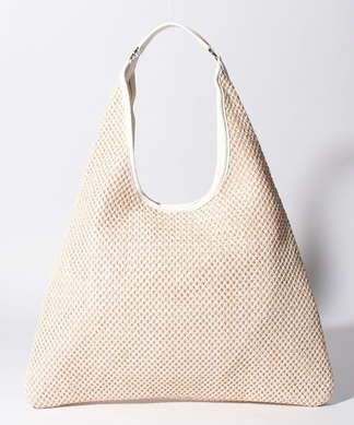 編みワンショルトートバッグ
