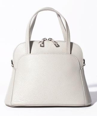 【BEVINI】台形型ハンドバッグ