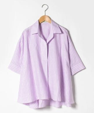 ストライプスキッパーシャツ