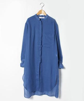 【TELA】スタンドカラーシャツ