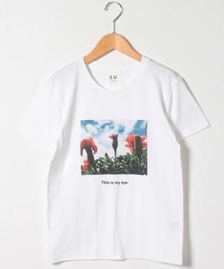 【SUNAOKUWAHARA】フォトプリントTシャツ