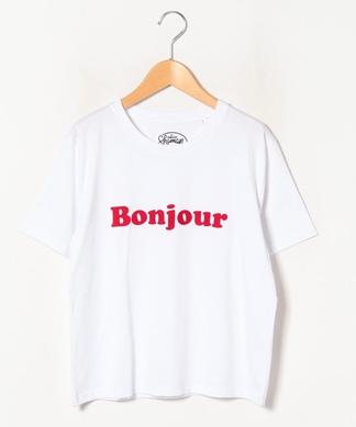 半袖ロゴTシャツ